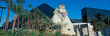 Panoramic View of Luxor Hotel with Pyramid and Sphinx  Casino in Las Vegas  Nv