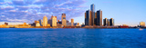 Renaissance Center  Detroit  Sunrise  Michigan