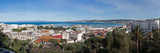 View of Port and Overview of Tangier  Morocco
