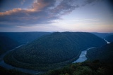 View of the New River Gorge National River from Grandview Visitor Center