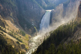 Scenic View of Yellowstone Falls