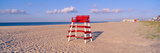Lifeguard Chair at the Beach in Morning  Cape May  New Jersey