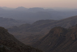 The Chisos Mountains in Big Bend National Park  Texas