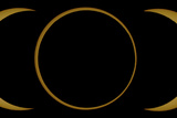 A Composite Image of an Annular Solar Eclipse