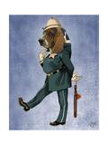 Basset Hound Policeman