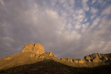 Casa Grande Rock Formation in the Chisos Basin Area of Big Bend National Park