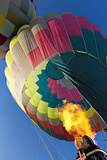 View of Hot Air Balloons at the White Sands Invitational Balloon Festival