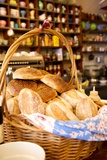 A Basket of Bread at a Restaurant in the Woodstock Neighborhood of Cape Town  South Africa