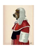 Basset Hound Judge Portrait