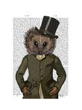Hedgehog Rider Portrait
