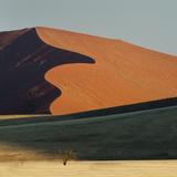 Sand Dune  Sossusvlei  Namib Desert  Namib-Naukluft National Park  Namibia