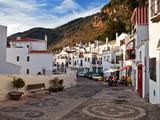 Frigiliana Street Scene  Costa Del Sol  Malaga Province  Andalucoa  Spain
