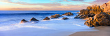 Rock Formations on the Beach at Sunrise  Lands End  Cabo San Lucas  Baja California Sur  Mexico