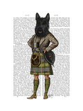 Scottish Terrier in Kilt