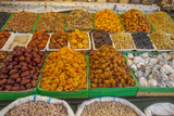 Dried Fruit for Sale in a Baku Bazaar