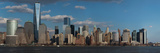 Panoramic View of New York City Skyline on Water Featuring One World Trade Center (1Wtc)