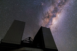 The Milky Way over the Very Large Telescope at the Cerro Paranal Observatory