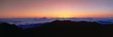 Sunrise over Haleakala Volcano Summit  Maui  Hawaii