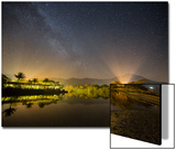 The Milky Way Above Praia Itamambuca in Ubatuba  Brazil
