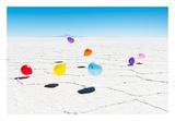 Balloons Three  Salar de Uyuni  Bolivia
