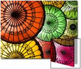 Colourful Painted Umbrellas  Parasols Made from Paper and Bamboo  Nyaung-U