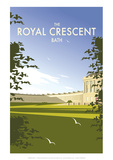 The Royal Crescent - Dave Thompson Contemporary Travel Print