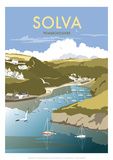 Solva - Dave Thompson Contemporary Travel Print