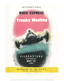 Trophy Meeting 10th May 1952 - Silverstone Vintage Print