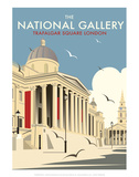 National Gallery - Dave Thompson Contemporary Travel Print