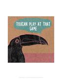 Toucan Play At That Game - Abigail Gartland Art Print