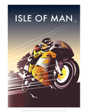 TT Racer - Dave Thompson Contemporary Travel Print
