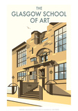 Glasgow School of Art - Dave Thompson Contemporary Travel Print
