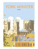 York Minster - Dave Thompson Contemporary Travel Print