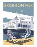 Brighton Pier - Dave Thompson Contemporary Travel Print