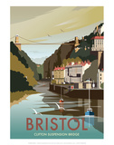 Bristol - Dave Thompson Contemporary Travel Print