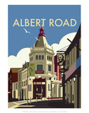 Albert Road - Dave Thompson Contemporary Travel Print