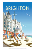 Brighton - Dave Thompson Contemporary Travel Print