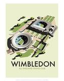 Wimbledon - Dave Thompson Contemporary Travel Print
