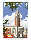 Brixton - Dave Thompson Contemporary Travel Print