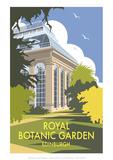 Royal Botanic Garden  Edinburgh - Dave Thompson Contemporary Travel Print