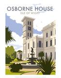 Osborne House  IOW - Dave Thompson Contemporary Travel Print