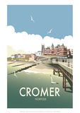Cromer - Dave Thompson Contemporary Travel Print