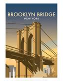 Brooklyn Bridge - Dave Thompson Contemporary Travel Print