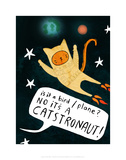 Catstronaut - Katie Abey Cartoon Print