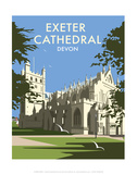 Exeter Cathedral - Dave Thompson Contemporary Travel Print