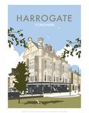 Harrogate - Dave Thompson Contemporary Travel Print