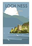 Loch Ness - Dave Thompson Contemporary Travel Print