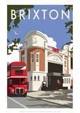 Brixton - Dave Thompson Contemporary Travel Print