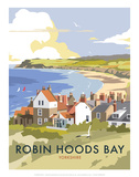 Robin Hoods Bay - Dave Thompson Contemporary Travel Print