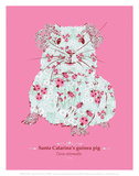 Guinea Pig - WWF Contemporary Animals and Wildlife Print